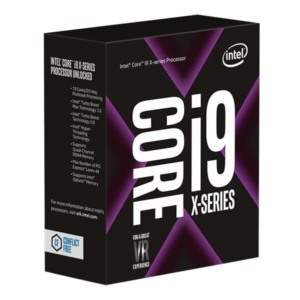 Core™ i9-7900X X-series Processor (13.75M Cache, up to 4.30 GHz)