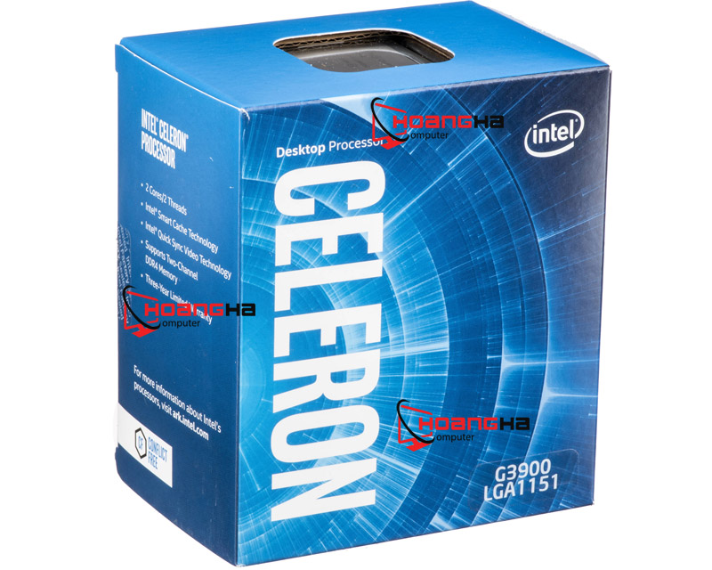 Chip G 3900 (2.8GHz) HD Graphics 510 (Skylake)
