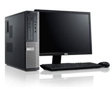 Dell optiplex 390/i3 2120/ram 2gb/Hdd 160/Màn 18.5